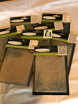CLEARANCE/LAST CHANCE-All Brand New -Darice Embossing Folders