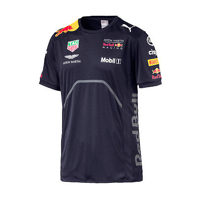 Herren T-Shirt Aston Martin Red Bull Racing F1 2018 Größe M