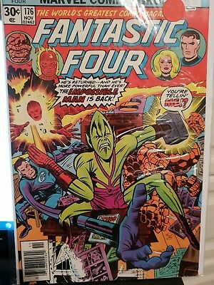 Fantastic Four 176 vg/f Marvel Comics