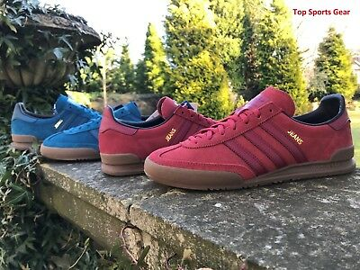 Adidas Originals Boys Mens Jeans Fashion Trainers Red Blue BNIBWT Sizes UK 3 -13
