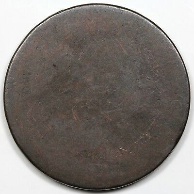 1794 Liberty Cap Large Cent, Head of 1794, S-59, R.3, LDS, smooth Poor