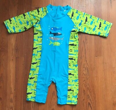 Youth Overall One-piece rash guard swim suit  Size 160cm  (9-10)