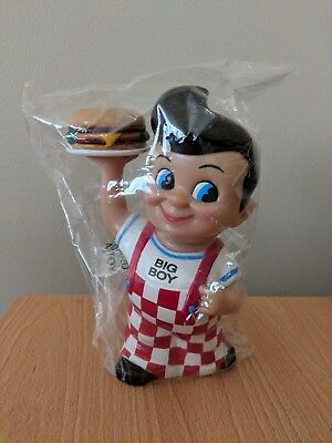 Big Boy Restaurant Funko Piggy Bank 1999 Elias Brothers Nip