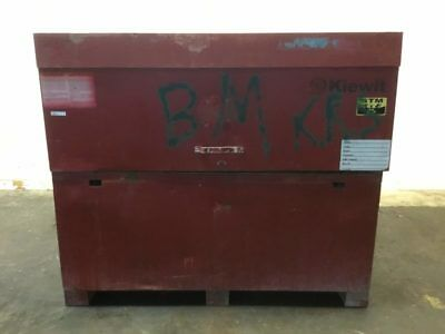 "Kiewit Red Box 61""L x 31""W x 52""H"