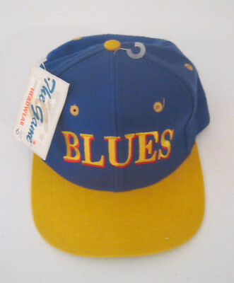 571eecdd944f0 ... denmark vintage st.louis blues the game fitted hat size 6 3 4 new with