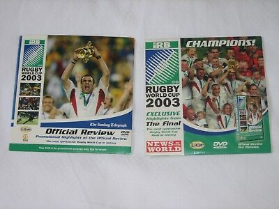 Rugby World Cup 2003 Official Review And Exclusive Highlights From The Final Dvd