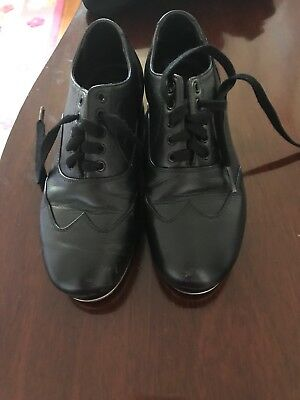 Miller and Ben Black Jazz Tap Master Tap Shoes; Size 36; In great condition