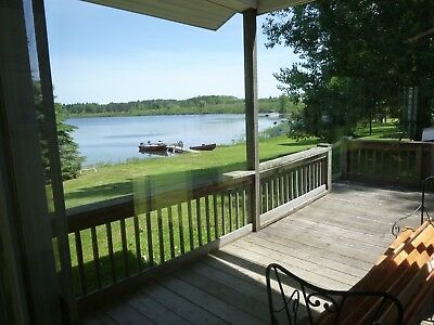 House for Sale With 120' of Frontage on an All-Sport Lake