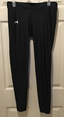 Under Armour Cold Gear Black Compression Long Pants Size Large