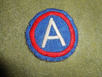 Rare Theater Made 3rd Army Patch ,used