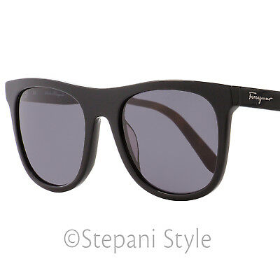 5e54655645 Salvatore Ferragamo Rectangular Sunglasses SF864S 001 Black Havana 55mm 864