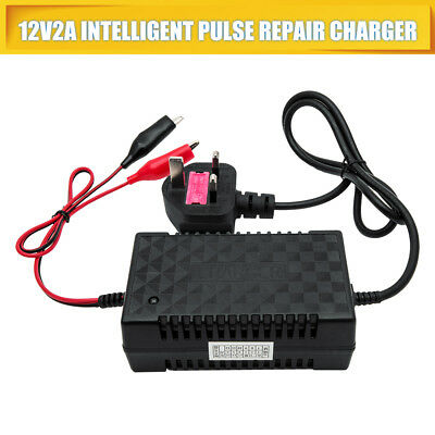 Intelligent 12V 2A Motorcycle Motorbike Battery Charger Automatic Smart Trickle