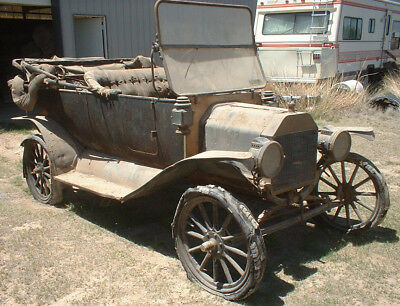 """Barn Find"" 1914 Ford Model T Touring 1908 1909 1910 1911 1912 1913 1915 1916"