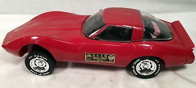 1978 Chevrolet Corvette Red Jim Beam Regal Decanter Bottle