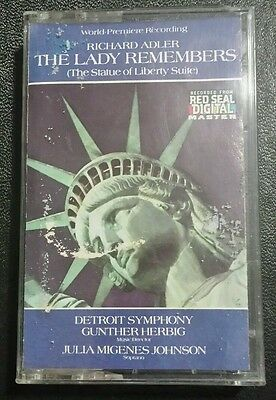 Richard Adler The Lady Remembers (The Statue of Liberty Suite) Cassette