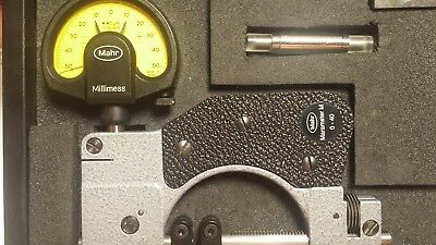 MaraMeter 840 FM Indicating snap gage with Millimess 1003 dial comparator 1 µm