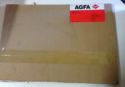 (1) Case 50 AGFA Azura TS Digital Thermal Plates OBRLD000 335x485mm New