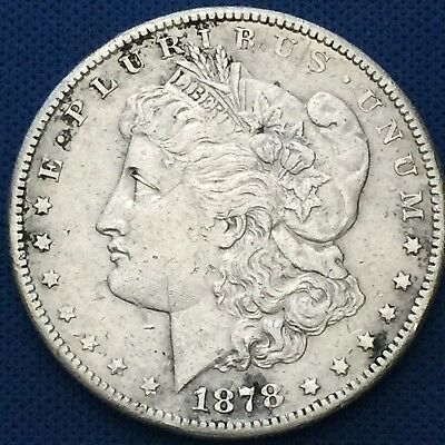 1878-S Morgan Silver Dollar 90% Silver $1 Better Date #S114