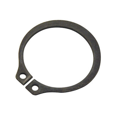 Φ11 Black Retaining Ring Snap Clip Rings, External, Shaft Dia 11mm, PK50