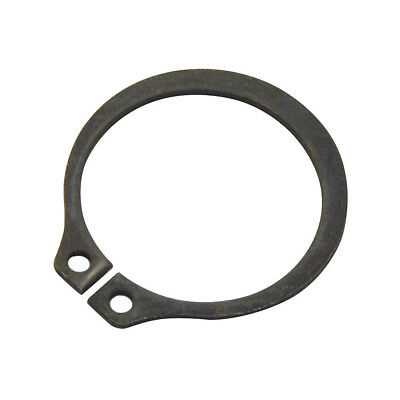 Φ16 Black Retaining Ring Snap Clip Rings, External, Shaft Dia 16mm, PK50