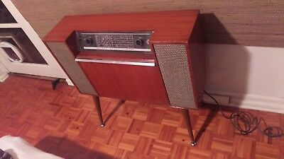 Pye Savoy Stereophone vintage record player with AM radio