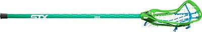 (Green/Blue) - STX Lacrosse Women's Crux 100 Complete Stick with Head