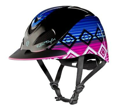 (Medium, Candy Serape) - Troxel Fallon Taylor Performance Helmet. Free Delivery