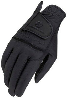 (11, Black) - Heritage Premier Show Glove. Heritage Products. Huge Saving