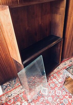 Mid Century Rosewood Wall Display Cabinet by Poul Cadovius for Cado Danish Retro