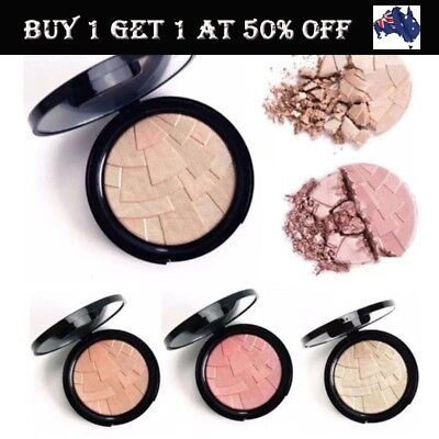 Face Eyes Highlight Powder Palette Shimmer Highlighter Cosmetics Face Contour AU
