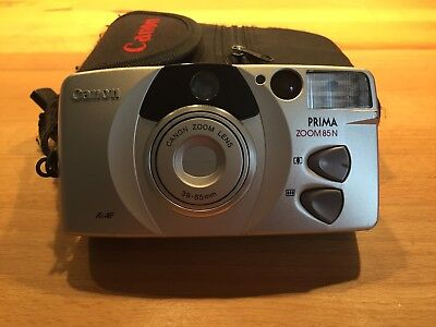 Canon Prima Zoom 85 N sure shot 38-85 mm Kamera