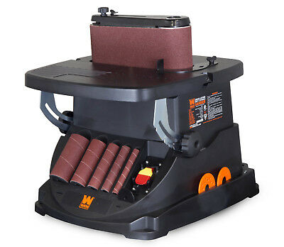 6523 High Quality Oscillating Belt and Spindle Sander 3.5 Amp 1575 FPM 2000 RPM