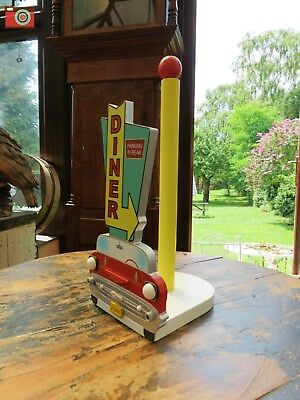 A Classic 1957 Chevy Kitchen Roll Holder, Lovely Retro Item & Great Gift.
