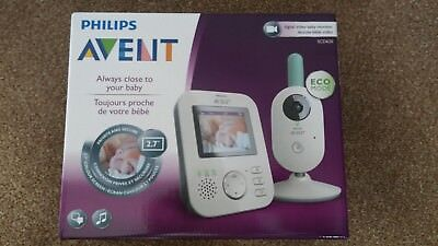 Philips Avent Digital Video Baby Monitor SCD620