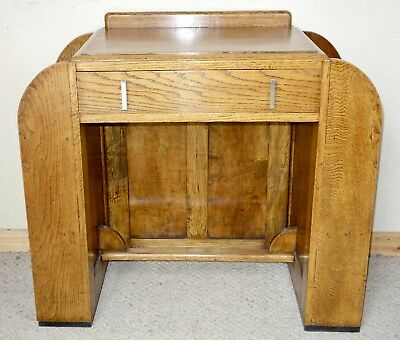 Art Deco Oak Desk, nationwide delivery available
