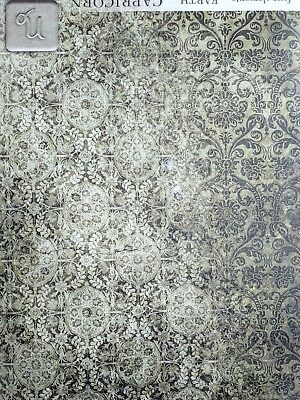 Rice Paper for Decoupage, Scrapbooking, Sheet Craft Vintage Ornament 1