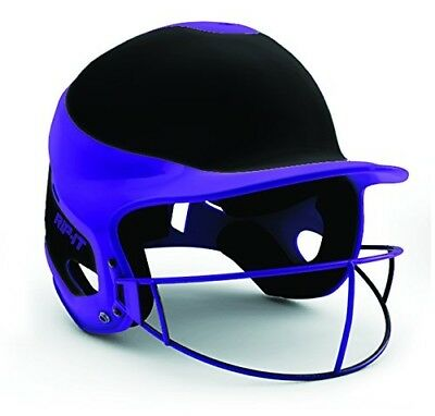 (Medium/Large, Away Purple) - Rip-It Vision Pro Away Softball Batting Helmet