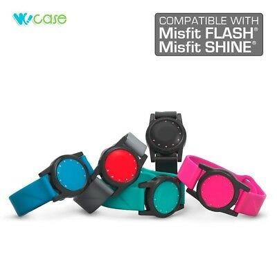 (Misfit SHINE (1st Gen. ONLY), Turquioise) - WoCase Wristband for Misfit FLASH