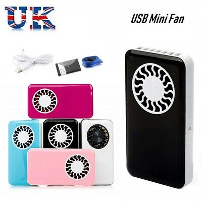 Portable Hand Held USB Mini Fan Air Conditioner Cooling Fan with battery