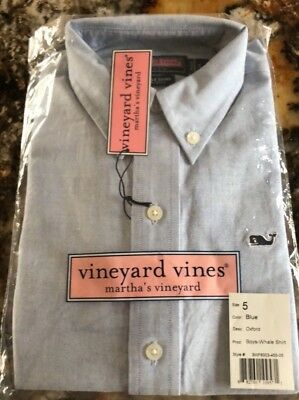 vineyard vines boys 5 shirt