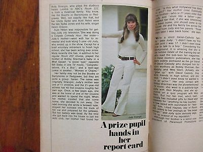 July 1, 1972 TV   Guide (JUDY  STRANGIS/ROOM  222/CAROL   BURNETT/GARRICK  UTLEY