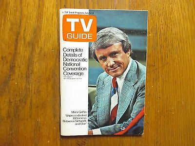 July 8, 1972 TV Guide(MERV GRIFFIN/SUSAN SULLIVAN/THE BEATLES/RICHARD CASTELLANO