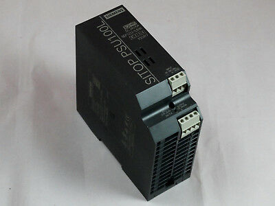 Siemens Sitop PSU100L Power Supply - Input AC 120/230V - Output DC 24V / 5A