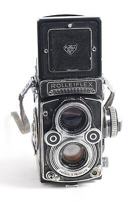 Rolleiflex f3.5 F  with 75mm. Carl Zeiss Planar lens and built in meter  (4186G)
