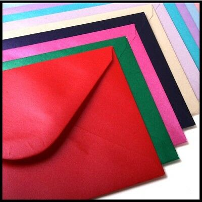 "C6 | A6 Pearlescent Metallic Pearl Shimmer Coloured Envelopes 114mmx162mm 4""x6"""