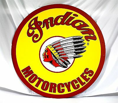 """Indian Motorcycles 36"""" Aluminum - New -"""