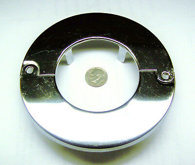"Fire Sprinkler Escutcheon Split Oops Ring Chrome 3/16"" D 2-3/8"" Id 4-1/2"""" Od"