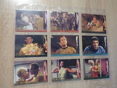 Star Trek Original Series 1 (Skybox 1997) - Character Log Card Set (C1 - C58)