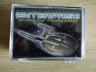 Star Trek Enterprise Season 1 (Rittenhouse 2002) - Complete Base Set (81 Cards)