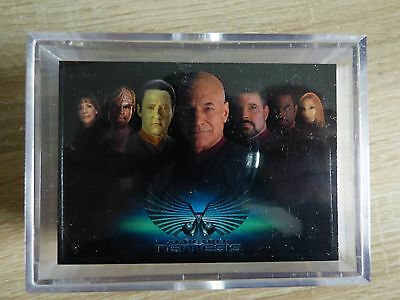 Star Trek Movie Nemesis (Rittenhouse 2002) - Complete Base TC Set (72 Cards)